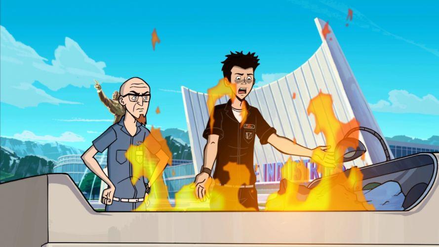 VENTURE BROS cartoon comedy adventure (68) wallpaper