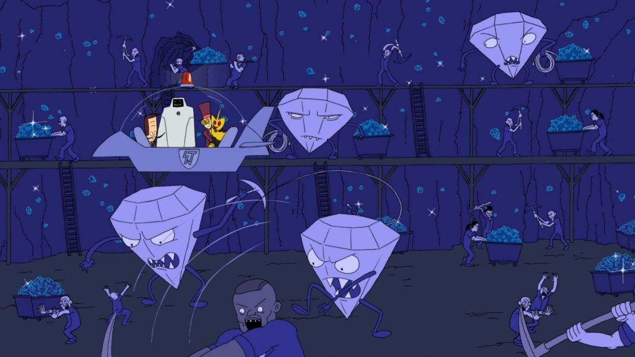 SUPERJAIL comedy cartoon family (27) wallpaper