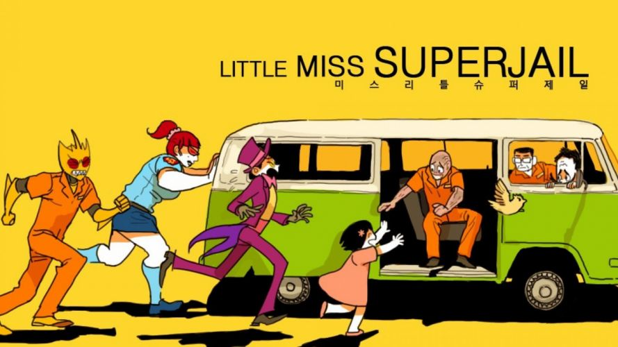 SUPERJAIL comedy cartoon family (41) wallpaper