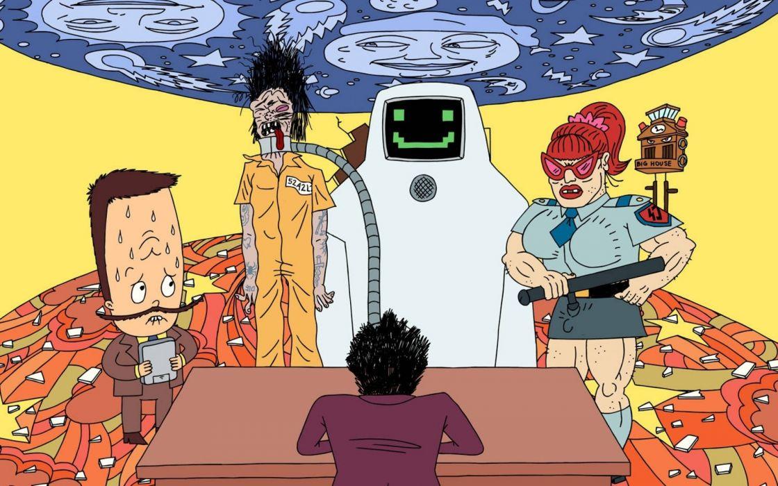 SUPERJAIL comedy cartoon family (51) wallpaper
