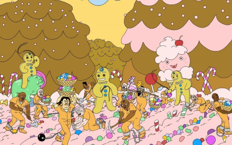 SUPERJAIL comedy cartoon family (52) wallpaper