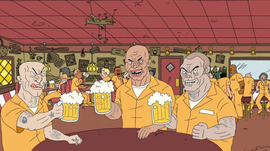 SUPERJAIL comedy cartoon family (65) wallpaper