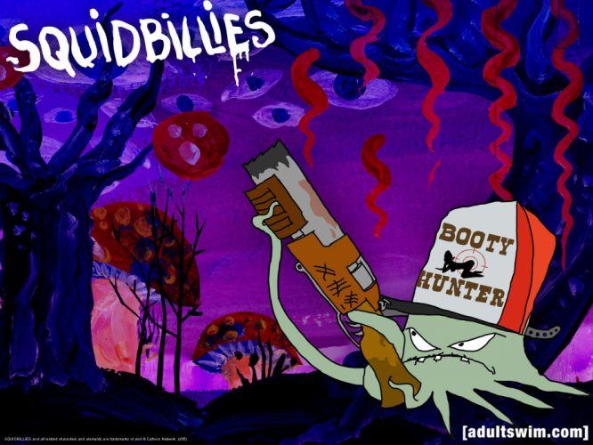 SQUIDBILLIES comedy family cartoon (1) wallpaper