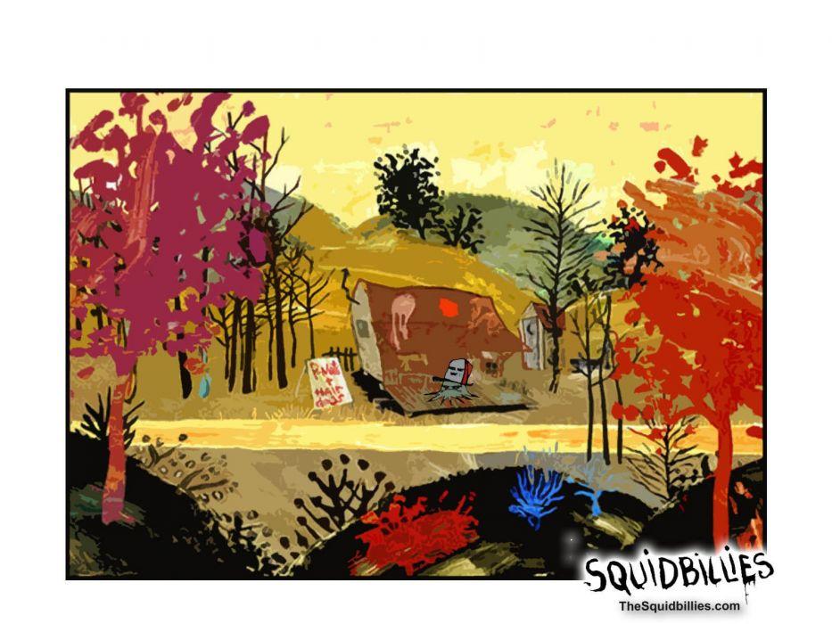 SQUIDBILLIES comedy family cartoon (2) wallpaper