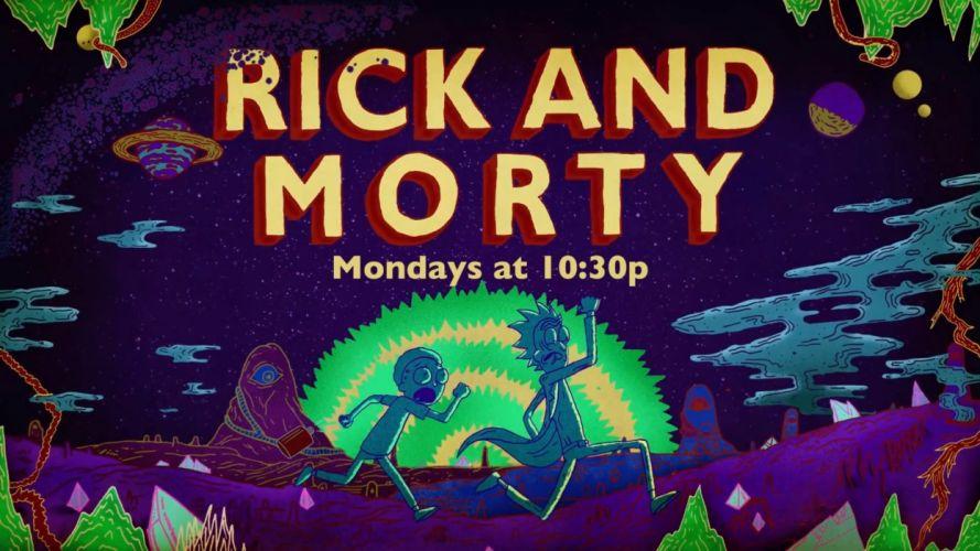 RICK AND MORTY comedy family sci-fi cartoon (67) wallpaper