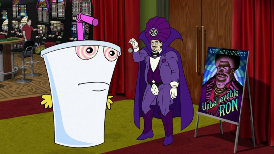 AQUA TEEN HUNGER FORCE comedy family cartoon (9) wallpaper