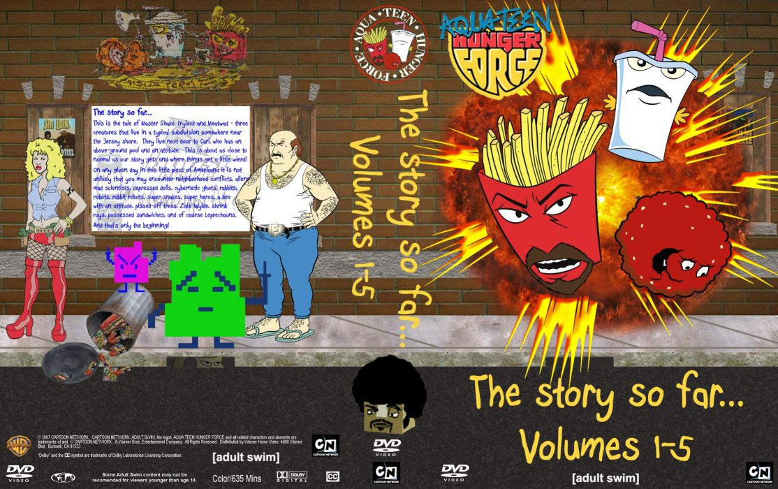 AQUA TEEN HUNGER FORCE comedy family cartoon (13) wallpaper