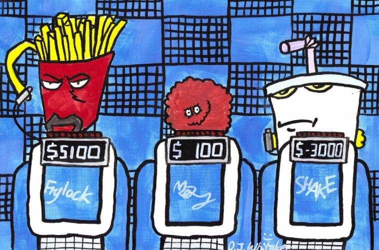 AQUA TEEN HUNGER FORCE comedy family cartoon (19) wallpaper
