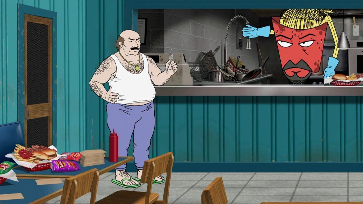 AQUA TEEN HUNGER FORCE comedy family cartoon (24) wallpaper