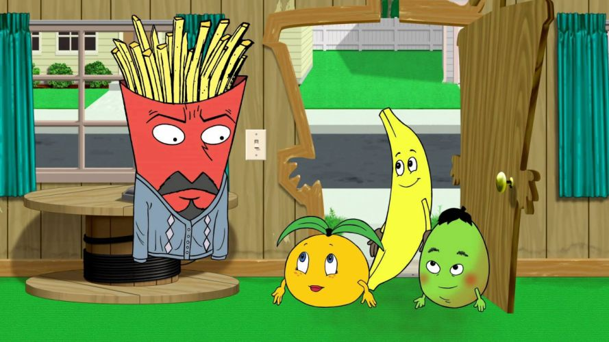AQUA TEEN HUNGER FORCE comedy family cartoon (27) wallpaper