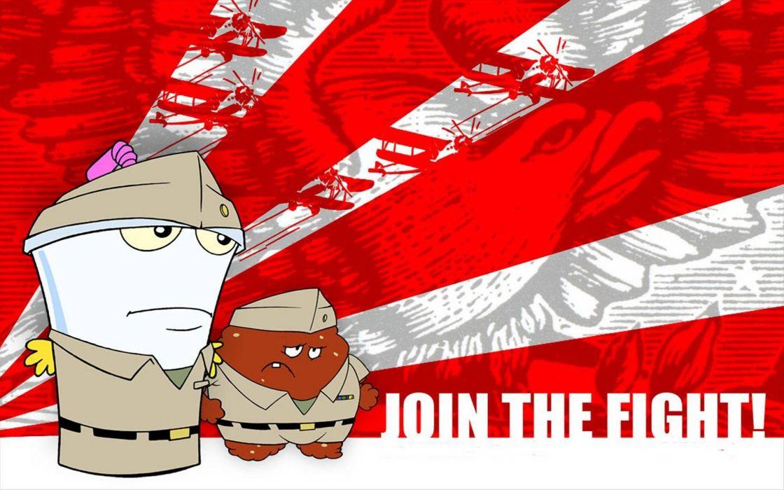 AQUA TEEN HUNGER FORCE comedy family cartoon (64) wallpaper