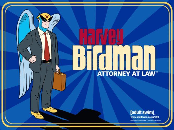 HARVEY BIRDMAN comedy family superhero cartoon (2) wallpaper