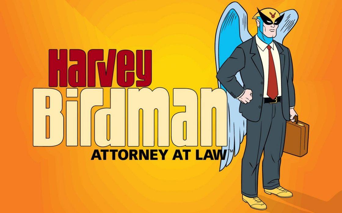 HARVEY BIRDMAN comedy family superhero cartoon (3) wallpaper
