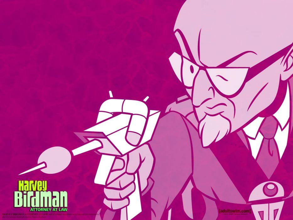 HARVEY BIRDMAN comedy family superhero cartoon (7) wallpaper