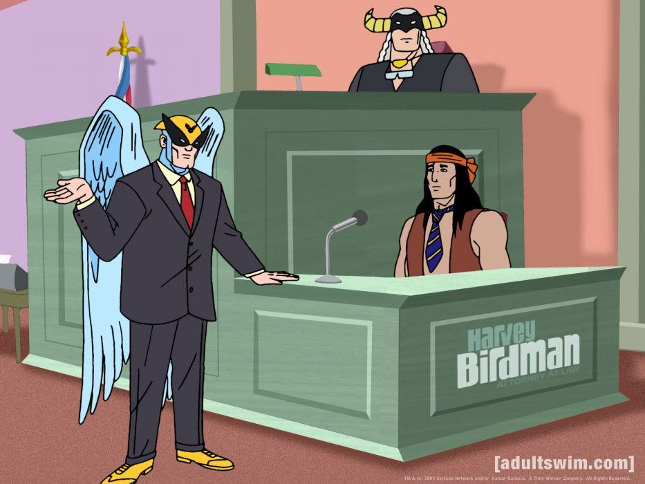 HARVEY BIRDMAN comedy family superhero cartoon (6) wallpaper