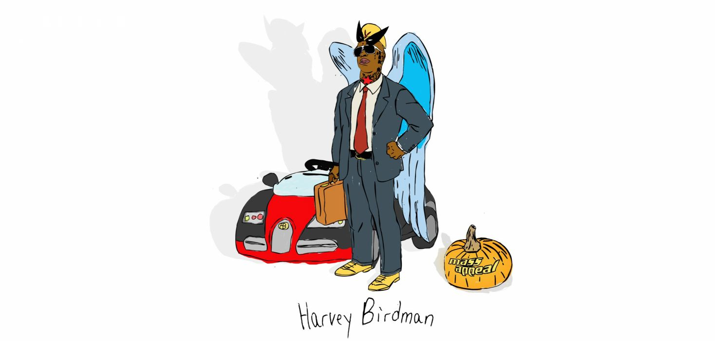 HARVEY BIRDMAN comedy family superhero cartoon (10) wallpaper