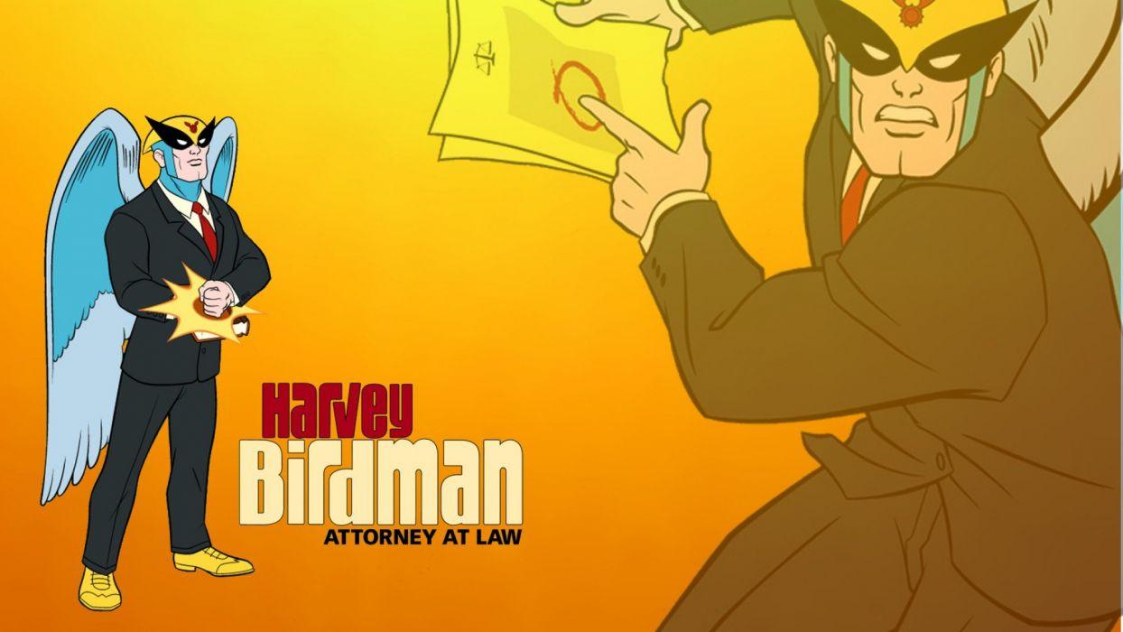 HARVEY BIRDMAN comedy family superhero cartoon (21) wallpaper