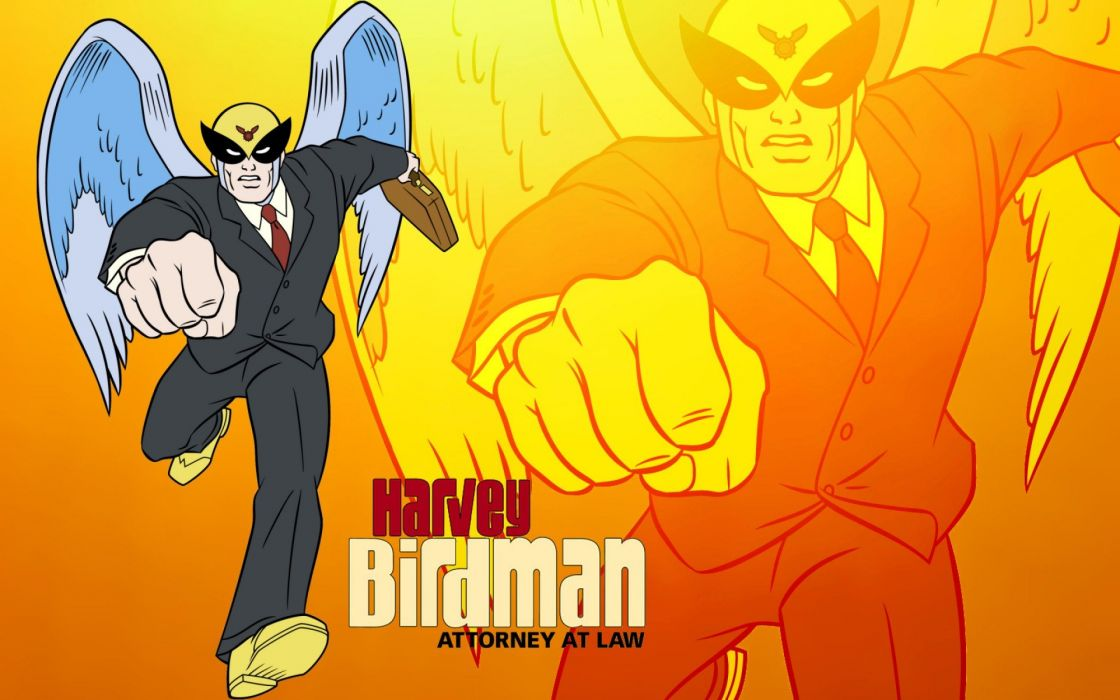 HARVEY BIRDMAN comedy family superhero cartoon (23) wallpaper