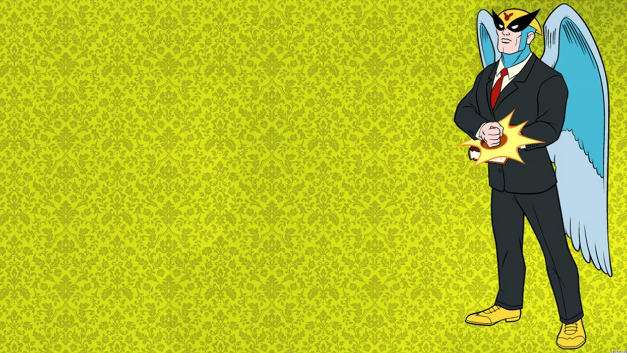 HARVEY BIRDMAN comedy family superhero cartoon (28) wallpaper