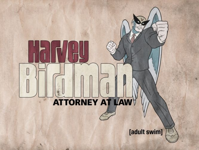 HARVEY BIRDMAN comedy family superhero cartoon (29) wallpaper