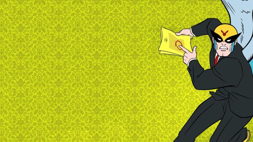 HARVEY BIRDMAN comedy family superhero cartoon (27) wallpaper