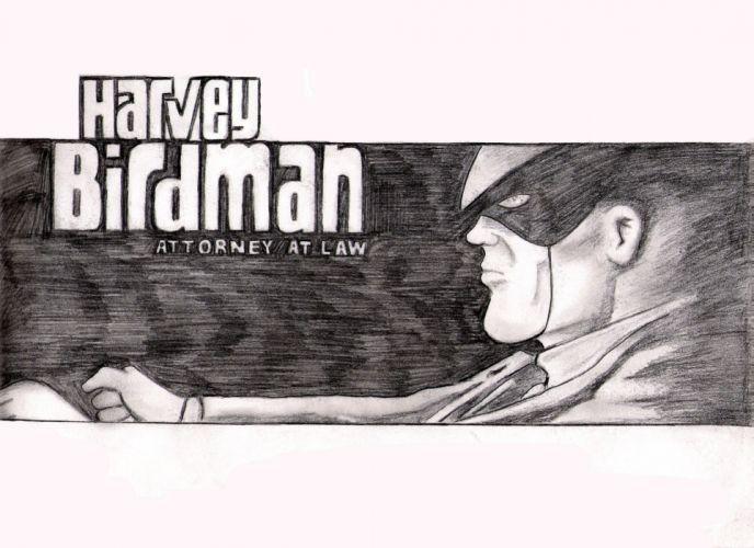 HARVEY BIRDMAN comedy family superhero cartoon (26) wallpaper