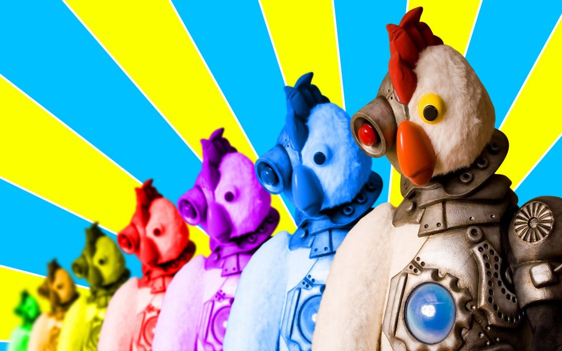 ROBOT CHICKEN comedy family sci-fi cartoon (1) wallpaper