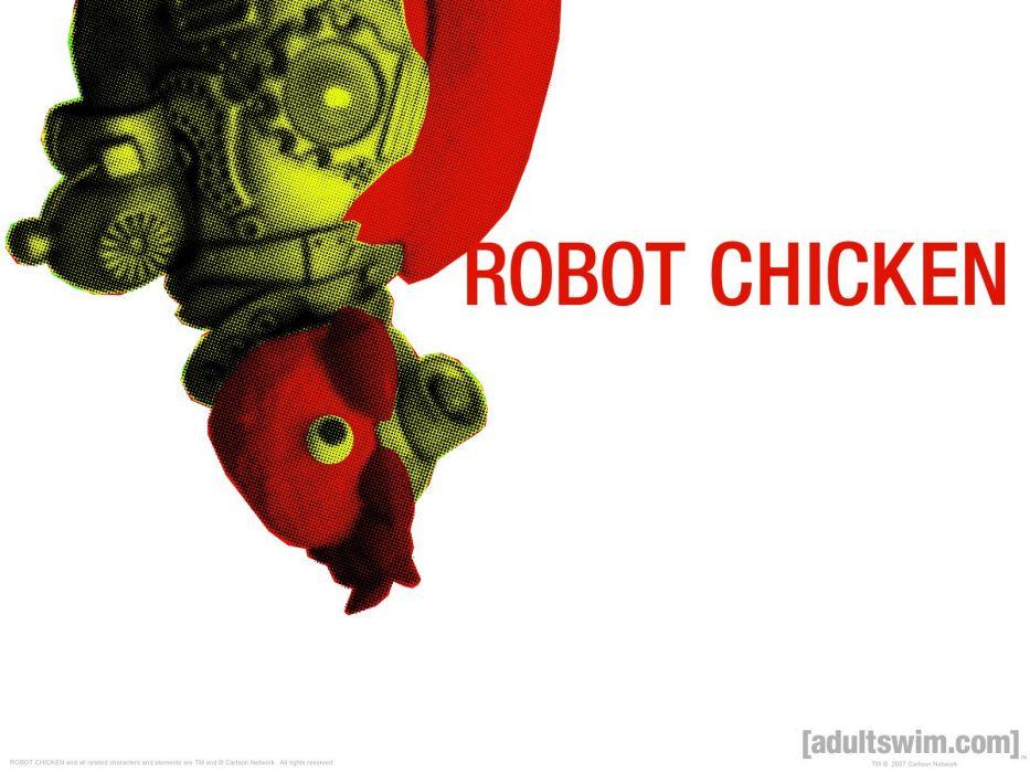 ROBOT CHICKEN comedy family sci-fi cartoon (8) wallpaper