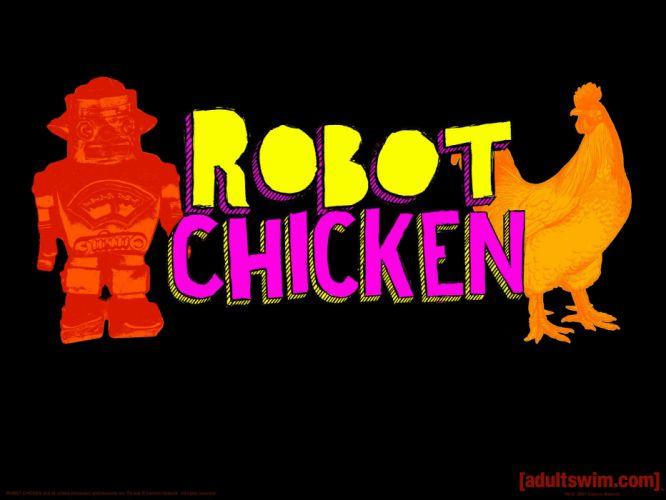 ROBOT CHICKEN comedy family sci-fi cartoon (7) wallpaper