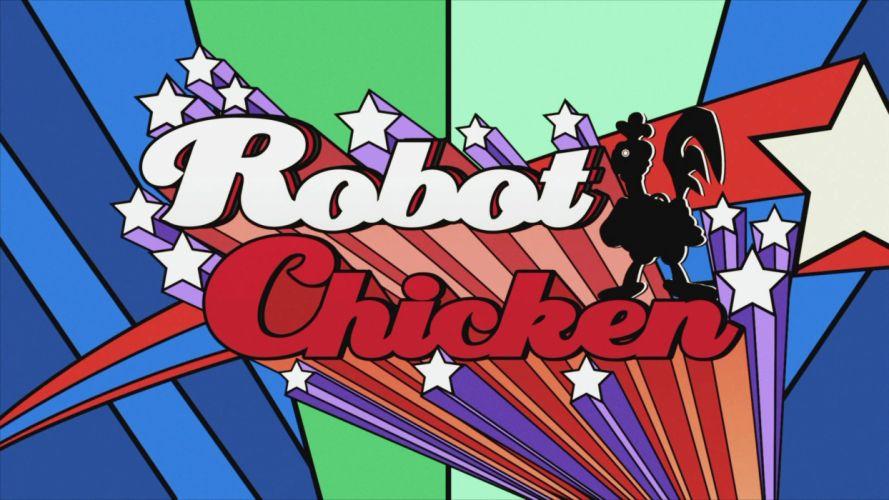 ROBOT CHICKEN comedy family sci-fi cartoon (12) wallpaper