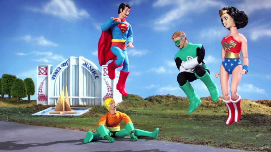 ROBOT CHICKEN dc-comics comedy family cartoon comics cartoon superhero (2) wallpaper