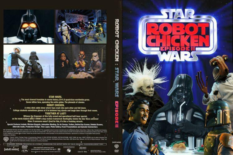ROBOT CHICKEN STAR WARS comedy family cartoon comics cartoon sci-fi (13) wallpaper