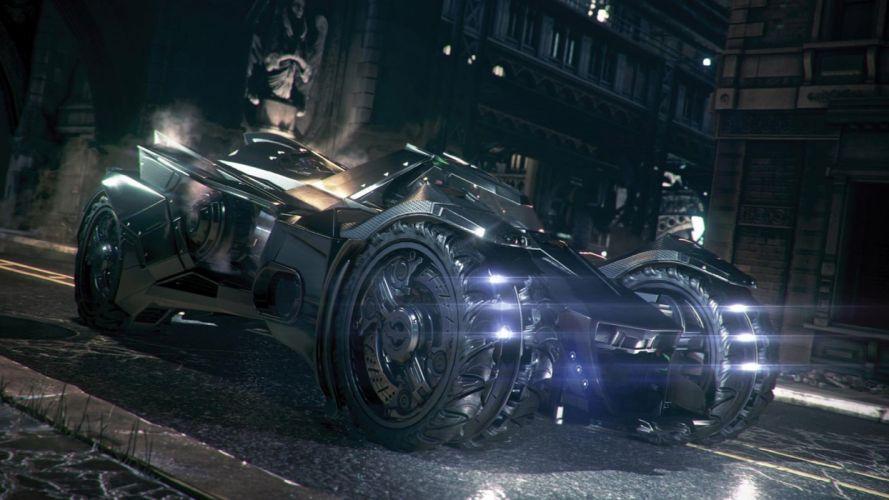 Batmobile - Batman:_Arkham_Knight wallpaper