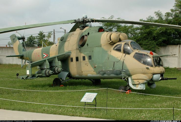 helicopter aircraft attack military army Hungary mil-mi wallpaper