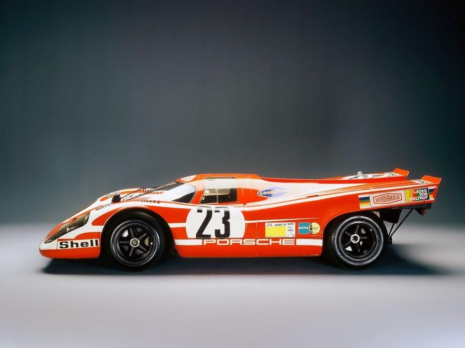 1970 Porsche 917 Race Car Spercar Germany Racing Le-Mans 4000x3000 wallpaper