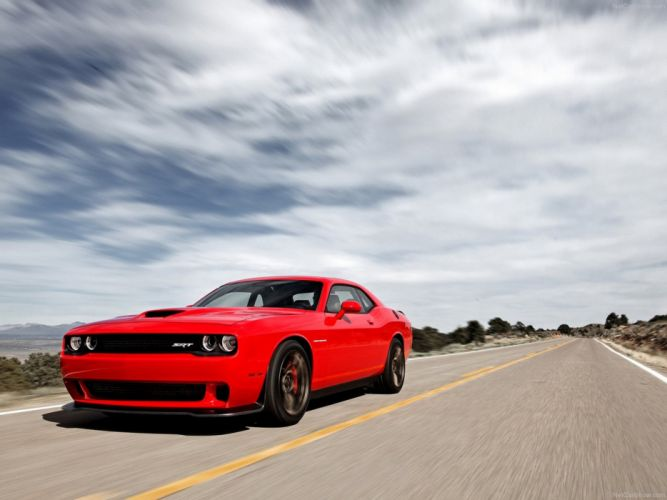 Dodge Chal Ger Srtcat Wallpaper Red Muscle Car Car Sport X Wallpaper