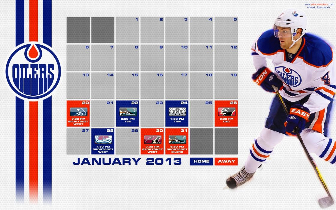EDMONTON OILERS nhl hockey (6) wallpaper