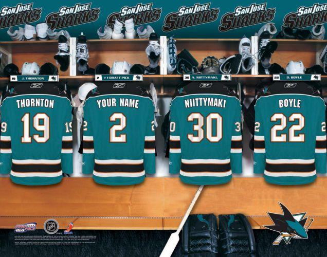 SAN JOSE SHARKS hockey nhl (12) wallpaper