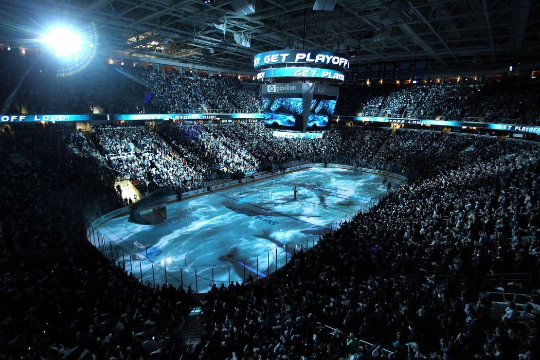 SAN JOSE SHARKS hockey nhl (26) wallpaper