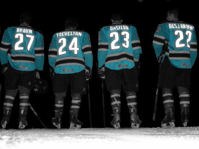 SAN JOSE SHARKS hockey nhl (40) wallpaper