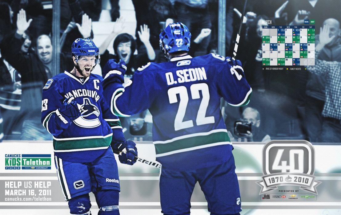 VANCOUVER CANUCKS nhl hockey (49) wallpaper