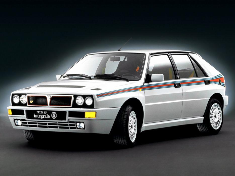 1992 Lancia Delta-HF Integrale Evoluzione Car Italy Martini 4000x3000 wallpaper