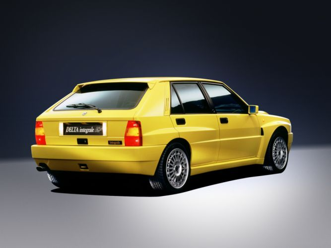 1992 Lancia Delta-HF Integrale Evoluzione-II Car Italy 4000x3000 wallpaper