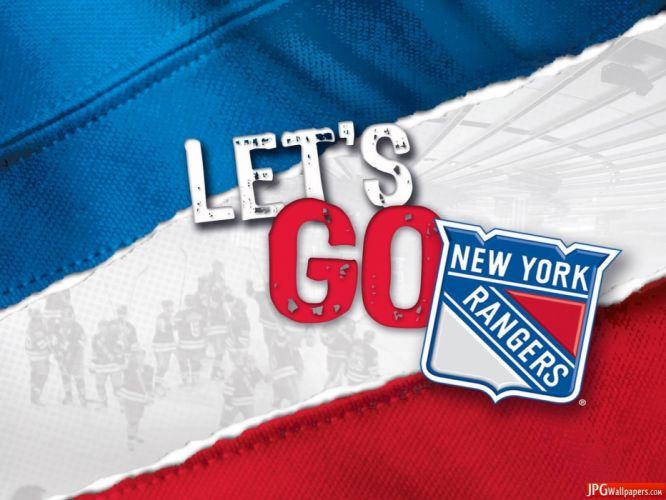 NEW YORK RANGERS hockey nhl (27) wallpaper