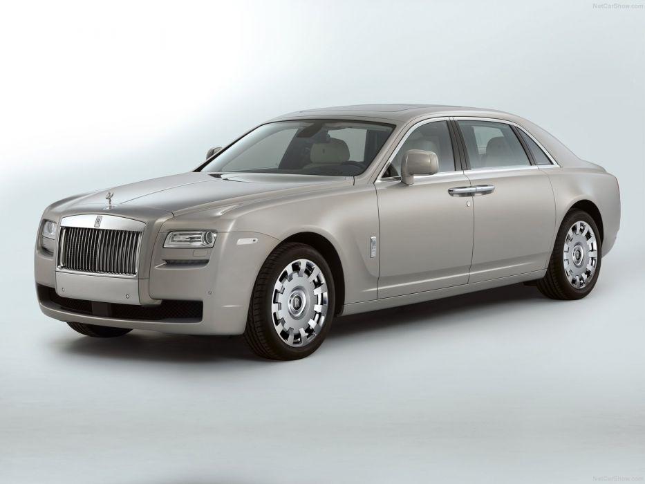 Rolls Royce Ghost Extended Wheelbase 2012 wallpaper