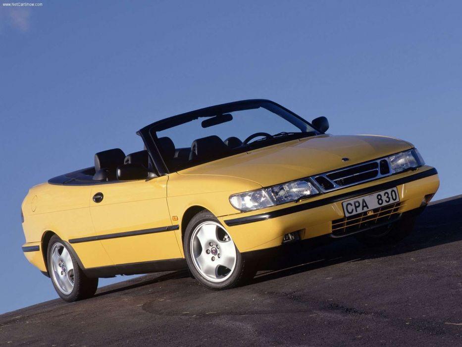 Saab 900 Convertible 1998 wallpaper