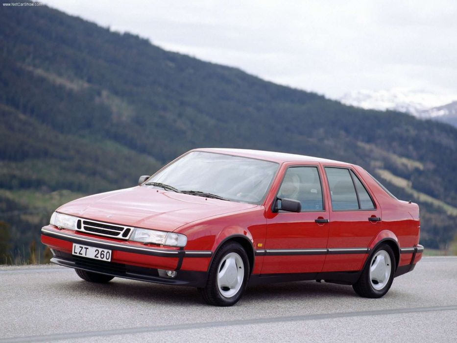 Saab 9000 1997 wallpaper