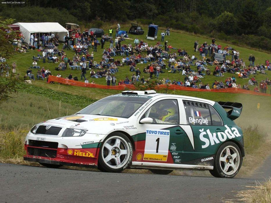 Skoda Fabia WRC 05 2005 wallpaper