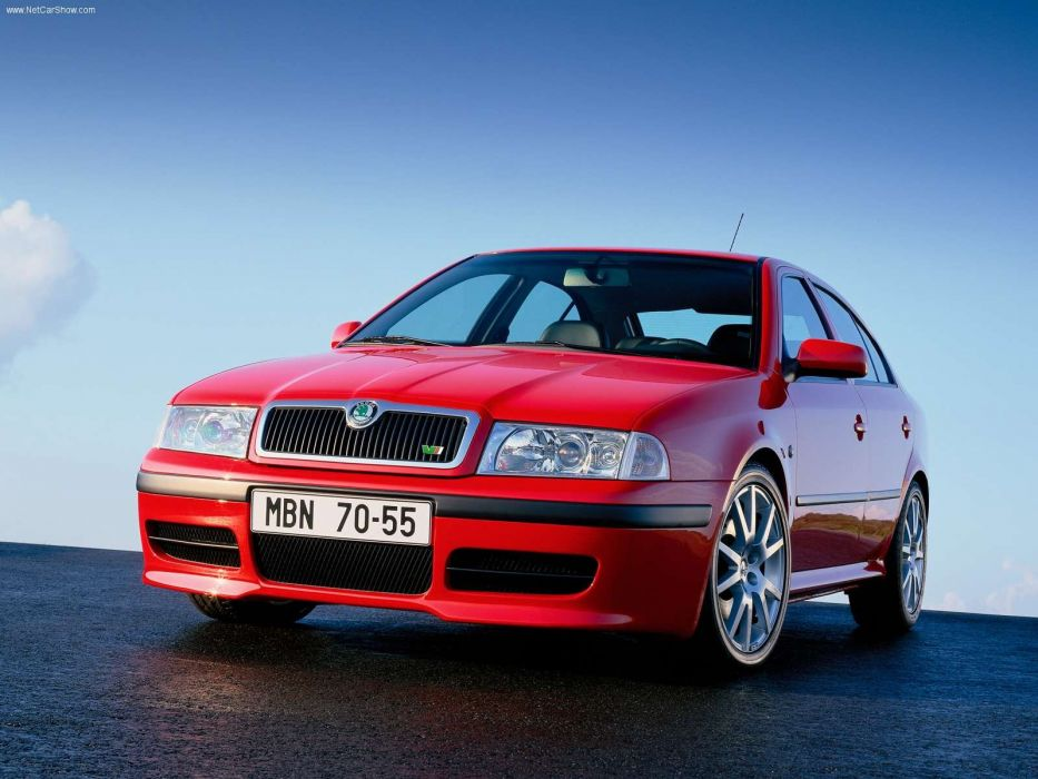 Skoda Octavia RS 2001 wallpaper