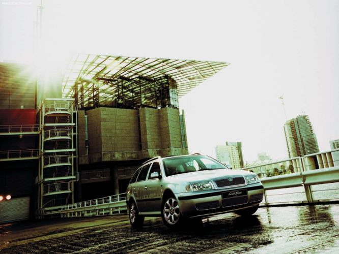 Skoda Octavia L and K 2001 wallpaper